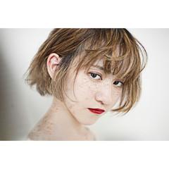 モード 色気 外国人風 ボブ ヘアスタイルや髪型の写真・画像