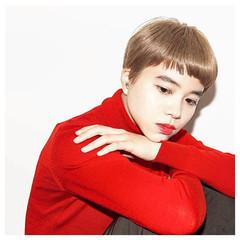 ストリート ブリーチ ショート ハイトーン ヘアスタイルや髪型の写真・画像