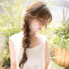 前髪あり 大人女子 ロング 外国人風 ヘアスタイルや髪型の写真・画像