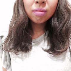 切りっぱなし ストリート 外国人風 ミディアム ヘアスタイルや髪型の写真・画像