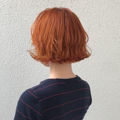 ハイトーン 個性的 ストリート ショート ヘアスタイルや髪型の写真・画像