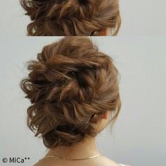 ショート 大人かわいい セミロング 簡単ヘアアレンジ ヘアスタイルや髪型の写真・画像