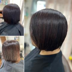 髪質改善 ヘナカラー 薄毛改善 モード ヘアスタイルや髪型の写真・画像