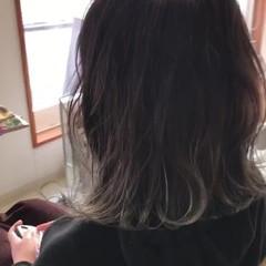 グラデーションカラー 波ウェーブ フェミニン モテ髪 ヘアスタイルや髪型の写真・画像