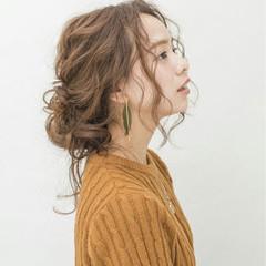夏 大人かわいい ロング ゆるふわ ヘアスタイルや髪型の写真・画像