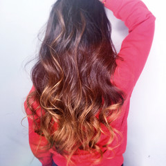 外国人風 コンサバ ハイライト アッシュ ヘアスタイルや髪型の写真・画像