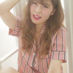 ロング スパイラルパーマ ヘッドスパ フェミニン ヘアスタイルや髪型の写真・画像