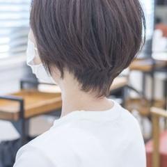 30代 ナチュラル 40代 ショートヘア ヘアスタイルや髪型の写真・画像