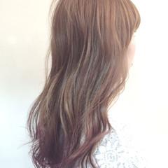 ロング ストリート ゆるふわ アッシュベージュ ヘアスタイルや髪型の写真・画像