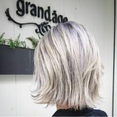 ガーリー ブリーチカラー ブリーチ 塩基性 ヘアスタイルや髪型の写真・画像