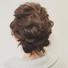 簡単ヘアアレンジ アンニュイほつれヘア デート ナチュラル ヘアスタイルや髪型の写真・画像