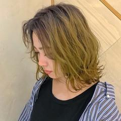 ストリート ボブ インナーカラー ミニボブ ヘアスタイルや髪型の写真・画像