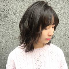 ナチュラル 大人かわいい 小顔 かわいい ヘアスタイルや髪型の写真・画像