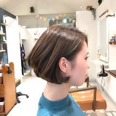 ボブ イルミナカラー 色気 大人女子 ヘアスタイルや髪型の写真・画像