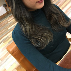 ヘアアレンジ ストリート セミロング 冬 ヘアスタイルや髪型の写真・画像