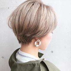大人かわいい ショート ショートヘア ストリート ヘアスタイルや髪型の写真・画像
