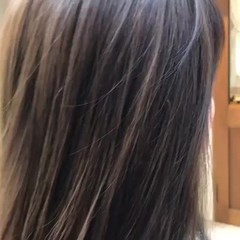 外ハネ ミディアム デート グラデーションカラー ヘアスタイルや髪型の写真・画像