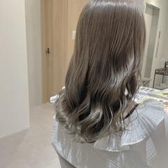 韓国 透明感カラー ヘアカラー ナチュラル ヘアスタイルや髪型の写真・画像