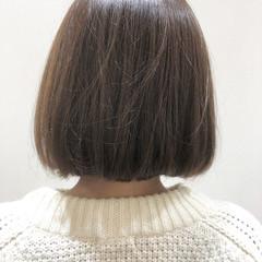 オルティーブアディクシー ナチュラル ボブ アディクシーカラー ヘアスタイルや髪型の写真・画像