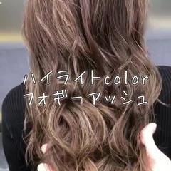 エフォートレス 外国人風カラー 外国人風 透明感 ヘアスタイルや髪型の写真・画像