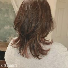 ゆるふわ 大人かわいい ウルフカット デート ヘアスタイルや髪型の写真・画像