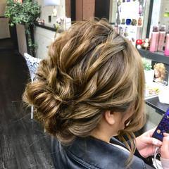 二次会 エレガント ロング 結婚式 ヘアスタイルや髪型の写真・画像
