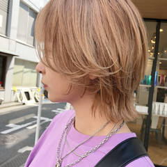 アンニュイほつれヘア ウルフ女子 ストリート ウルフ ヘアスタイルや髪型の写真・画像