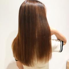 縮毛矯正 髪質改善 最新トリートメント ロング ヘアスタイルや髪型の写真・画像