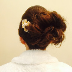 ヘアアレンジ 結婚式 まとめ髪 大人かわいい ヘアスタイルや髪型の写真・画像