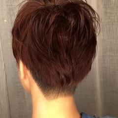 秋 透明感 スポーツ オフィス ヘアスタイルや髪型の写真・画像