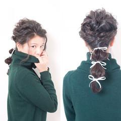 ヘアアレンジ ロング ショート 大人かわいい ヘアスタイルや髪型の写真・画像