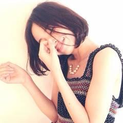 秋 モテ髪 ボブ ガーリー ヘアスタイルや髪型の写真・画像