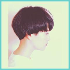 ショート 黒髪 グラデーションカラー 60年代 ヘアスタイルや髪型の写真・画像