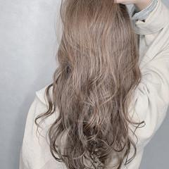 ナチュラル 大人可愛い ロング 透明感カラー ヘアスタイルや髪型の写真・画像