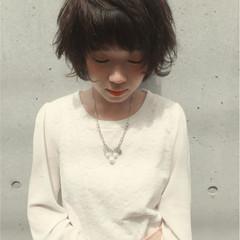 夏 似合わせ 小顔 黒髪 ヘアスタイルや髪型の写真・画像