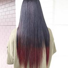 グラデーションカラー グラデーション ナチュラルグラデーション ロング ヘアスタイルや髪型の写真・画像
