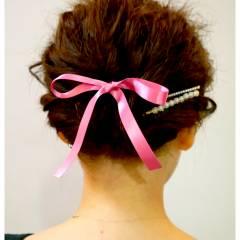 愛され ヘアアレンジ モテ髪 コンサバ ヘアスタイルや髪型の写真・画像