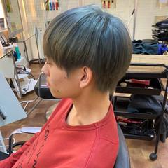 メンズスタイル イルミナカラー ショート ダブルブリーチ ヘアスタイルや髪型の写真・画像