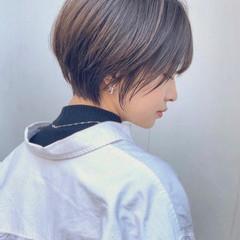 ショートボブ 髪質改善 ショートヘア ショート ヘアスタイルや髪型の写真・画像