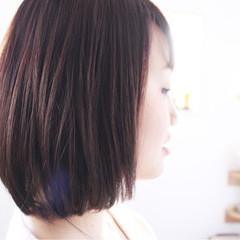 エレガント モーブ 上品 ピンク ヘアスタイルや髪型の写真・画像