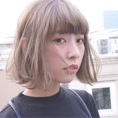 モテ髪 冬 ボブ フェミニン ヘアスタイルや髪型の写真・画像