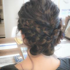 ヘアセット パーティヘア アップスタイル パーティー ヘアスタイルや髪型の写真・画像