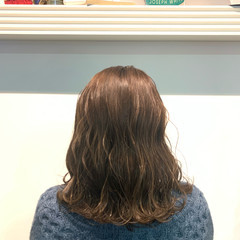 ベージュ シアーベージュ ナチュラル ミルクティーベージュ ヘアスタイルや髪型の写真・画像