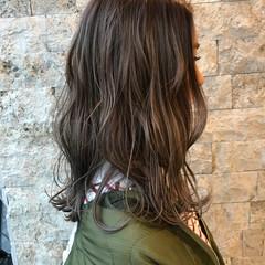 ガーリー ミルクティー 外国人風 ハイライト ヘアスタイルや髪型の写真・画像