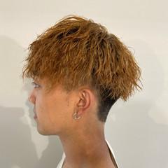 メンズ ストリート ショート ブリーチオンカラー ヘアスタイルや髪型の写真・画像