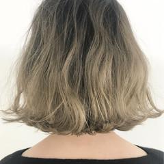 ブリーチ ナチュラル ボブ 外国人風 ヘアスタイルや髪型の写真・画像