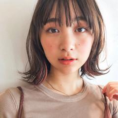 ヘアアレンジ デート フェミニン エフォートレス ヘアスタイルや髪型の写真・画像