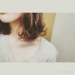 ウェットヘア ヘアアレンジ ナチュラル セミロング ヘアスタイルや髪型の写真・画像