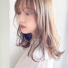 透明感 ロング ヘアアレンジ アンニュイほつれヘア ヘアスタイルや髪型の写真・画像