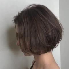 デート ショート ストリート ショートボブ ヘアスタイルや髪型の写真・画像